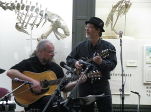 Frank and Glenn at the Peabody Museum in New Haven, Ct.